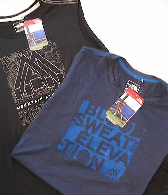 LOT OF 2 NWT Men's The North Face Graphic Reaxion T-Shirts Size XL