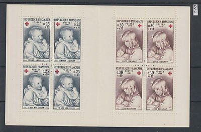 XG-X158 FRANCE - Red Cross, 1965 Paintings, Children MNH Booklet