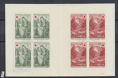 XG-X163 FRANCE - Red Cross, 1970 Paintings, Dissay Chapel MNH Booklet