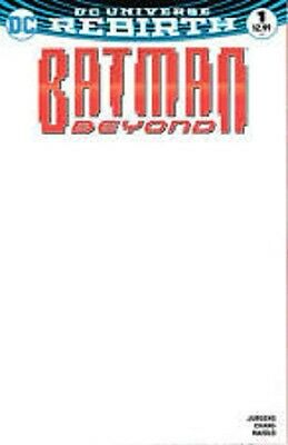 Batman Beyond #1 Blank Variant (2016) DC Comics Rebirth
