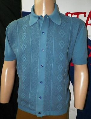 Large.- Awesome Sixties Original Vintage  (Chest 44/ Lenght 25)
