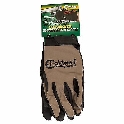 New! Caldwell Shooting Gloves Large/X-Large Rubberized Palm Breathable 151294