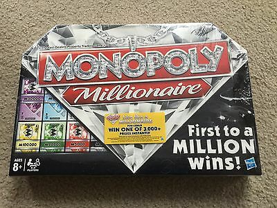 New Monopoly Millionaire Board Game 2012 Sealed Nip