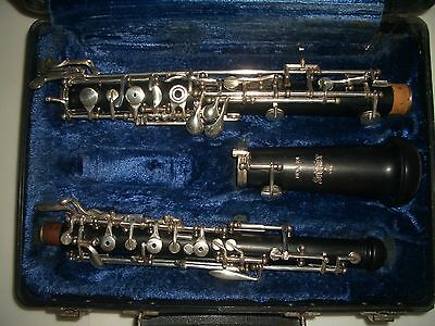 Selmer wood Oboe Professional With left F serial # F14802