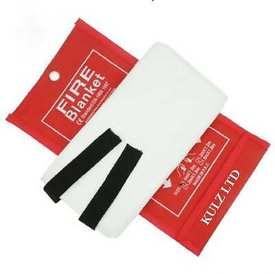 Fire proof Anti Fire Fiberglass Large Quick Release Home & Office Safety Blanket