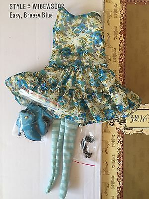 Tonner Ellowyne Wilde ~ Easy, Breezy Blue ~ complete OUTFIT ONLY - CUTE! fashion