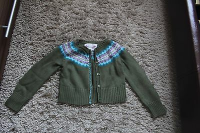Girls Short Cardigan Size  5 Years Fro Gap
