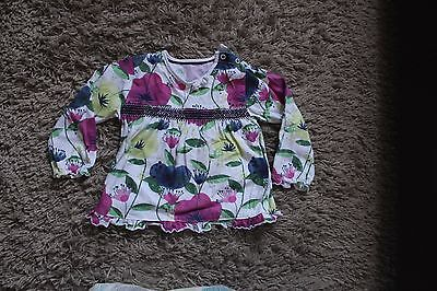Girls Top From M&s Size 12-18 Months