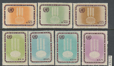 XG-Y473 SYRIA IND - Freedom From Hunger, 1963 7 Values MNH Set