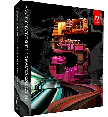 Adobe CS5.5 Creative Master Collection Suite with serial Windows (Full Version)
