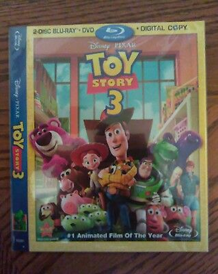 toy story 3 blu ray slipcover only