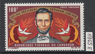 XG-Y686 CAMEROON IND - Lincoln, 1965 Death Centenary MNH Set