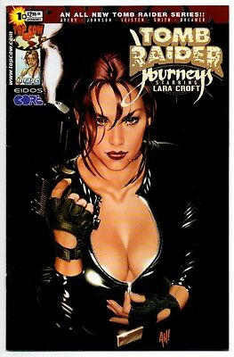 TOMB RAIDER Journeys #1 VF 8.0 Adam Hughes cover hot like Catwoman 51