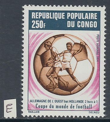 XG-Y810 CONGO BRAZZAVILLE - Football, 1974 Germany World Cup Victory MNH Set
