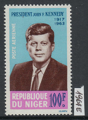 XG-Y835 NIGER IND - Kennedy, 1964 Airmail, 1 Value MNH Set