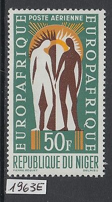 XG-Y843 NIGER IND - Europafrique, 1963 Airmail, 1 Value MNH Set