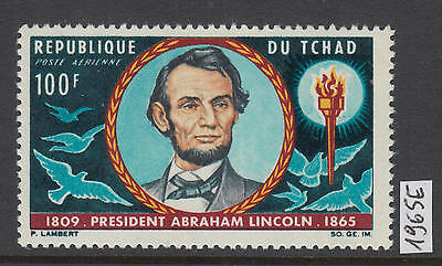XG-Y896 CHAD IND - Lincoln, 1965 Airmail, 1 Value MNH Set