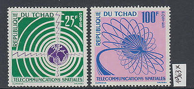 XG-Y898 CHAD IND - Space, 1963 Telecommunications MNH Set