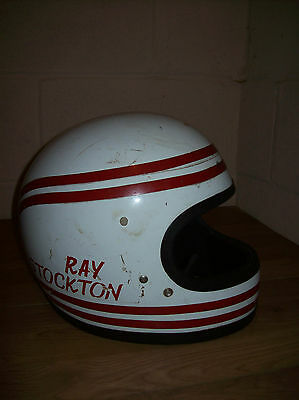 Vintage Shoei S12 Full Face Crash Helmet