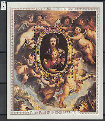 XG-Y943 IVORY COAST IND - Paintings, 1978 Rubens Anniversary MNH Sheet