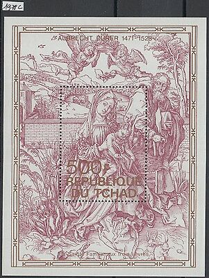 XG-Y950 CHAD IND - Paintings, 1979 Durer Anniversary MNH Sheet