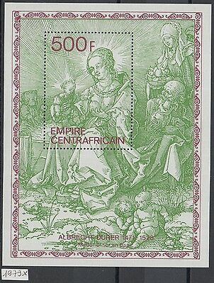 XG-Y991 CENTRAL AFRICAN - Paintings, 1979 Durer Anniversary MNH Sheet