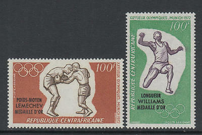 XG-O385 OLYMPIC GAMES - Central African, 1972 Munich '72, Winners Ovp MNH Set