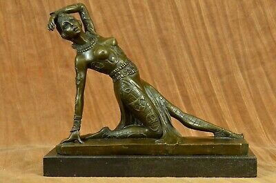 Handmade bronze sculpture Culture French And Ballet Russian Chiparus DB