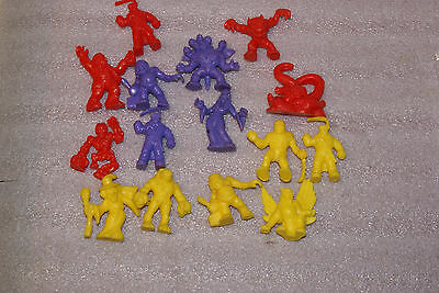 Lot of 15 MIMP Monsters In My Pocket Assorted Rubber PVC Figures