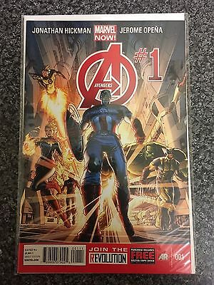 Avengers Issue 1 Nm/vf First Print Bagged And Boarded