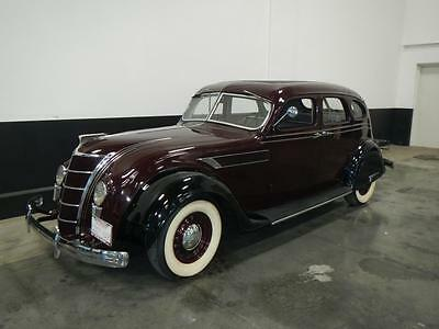1935 Chrysler Other Airflow 1935 Chrysler Air Flow 22000 Miles restored out large collection.