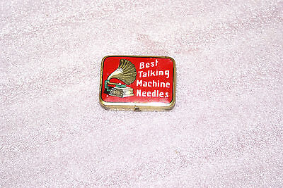 Vintage Phonograph Gramophone Tin Best Talking Machine Needles