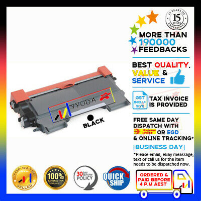 2x Generic TN-2250 Toner Cartridge for Brother MFC-7360N MFC-7362N MFC-7860DW