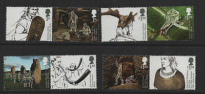 1) GB Stamps 2017 Ancient Britain Full Set. NH Mint .