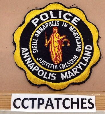 Annapolis, Maryland Police Shoulder Patch Md