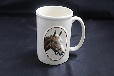 Equine Expressions Coffee Tea Mug Stein Churchill Quote 3D Chestnut Horse Face