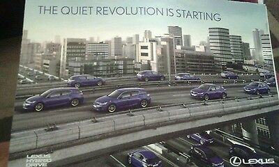 lexus CT200h advertising brochure
