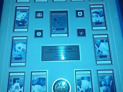 Framed Matted  Air Canada Opening Night  Commemorative Inaugural SeasonTickets