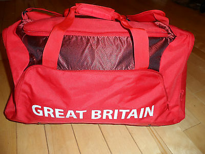 Large ADIDAS TEAM GB Sports Bag Holdall from London 2012 Olympic Games -  rare!