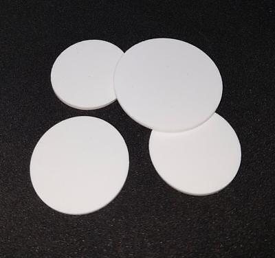4 x Bespoke Silicone Rubber Disc / Discs 1.5mm thick