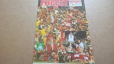 1989.90 Nottingham forest v Coventry city League cup semi final