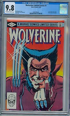 WOLVERINE #1 - CGC 9.8 - OW-WP NM/MT - 1982 Limited Series