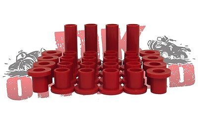 2013-18 Polaris Scrambler Polyurethane Complete Suspension Bushing Kit