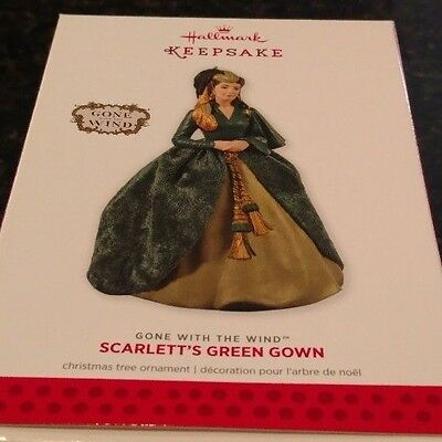 2013 Hallmark Scarlett's Green Gown Gone with the Wind  Ornament