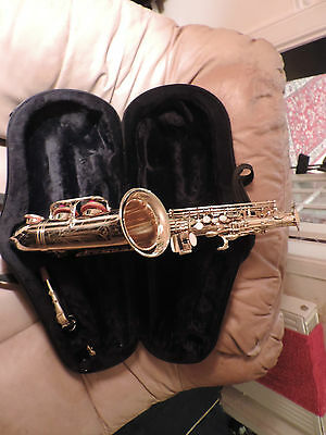 RIKIS ALTO SAX EXCELLENT CONDITION COST NEW 290.00 reduced to 129.00