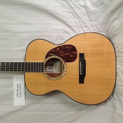 1996 Morgan OMM Acoustic 6 string guitar, Exc. cond., PRICE DROP