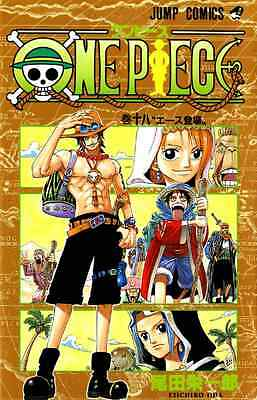 One Piece book 18