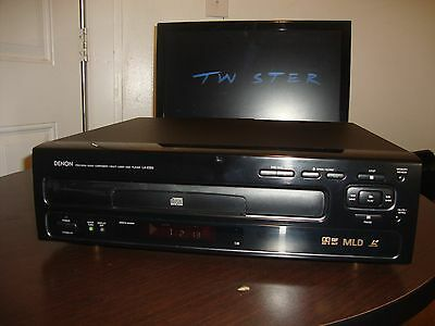 Denon LA-2300 Laserdisc Player Unit works great