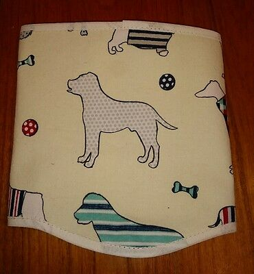 """Dog Belly Band stop spraying mating 10""""/11"""" waist. New and Tagged."""