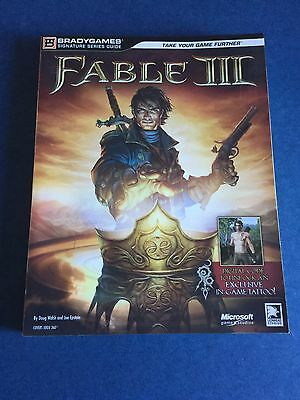 Fable III 3 Paperback Strategy Guide - BradyGames Signature Series